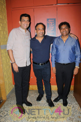 Johnny Lever At Sanjeev Kapoor's The Yellow Chilli Kitchen Stills Hindi Gallery