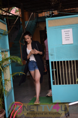 Nupur Sanon Spotted At Versova Images Hindi Gallery