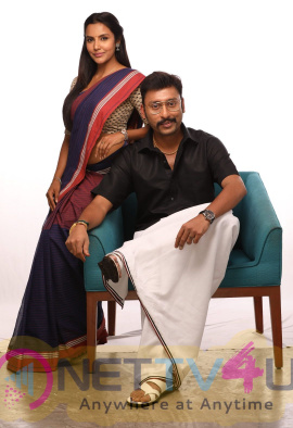 LKG Movie Photos