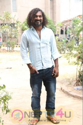 Power Paandi Movie Press Meet Attractive Photos Tamil Gallery