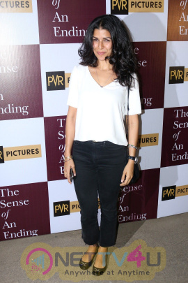 Special Screening Of Film The Sense Of An Ending With Naseeruddin Shah & Nimrat Kaur Beautiful Photos Hindi Gallery