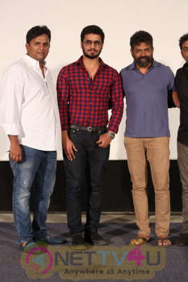 New Movie Keshava Trailer Launch Grand Pics  Telugu Gallery