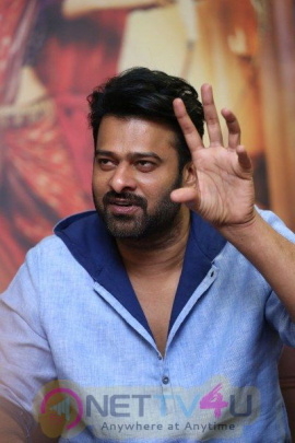Actor Prabhas Interview Stunning Pics