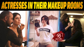 10 Bollywood Actresses In Their Makeup Rooms