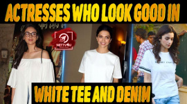 10 Bollywood Actresses Who Look Good In White Tee And Denim