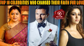Top 10 Celebrities Who Changed Their Faith For Love
