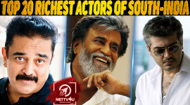 Top 20 Richest Actors Of South-India