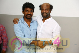 Kolamaavu Kokila Technical Team Met SuperStar Rajinikanth Pics Tamil Gallery