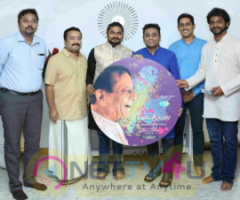 AR Rahman Launches Dr M Balamuralikrishnas Fusion Album Amalgam Pics Tamil Gallery