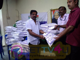 Singer Velmurugan Helps To Delta People Images