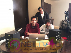 Agnyaathavaasi Movie Special Song Recording Pics Telugu Gallery