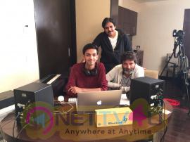 Agnyaathavaasi Movie Special Song Recording Pics