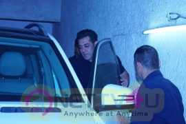 Salman Khan & Salim Khan Watch Movie Tiger Zinda Hai At Lightbox Pics Hindi Gallery