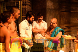 Mega Power Star Ram Charan's New Movie In The Direction Of Boyapati Srinu Shooting Started Stills