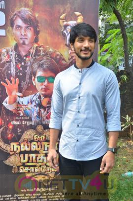 Oru Nalla Naal Paathu Solren Press Meet Pics Tamil Gallery