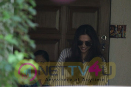 Deepika Padukone Came To Bandra