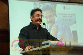 Kamal Haasan At Chennai International Centre Event Pics