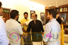Mercury Team Met Superstar Rajinikanth Images Tamil Gallery