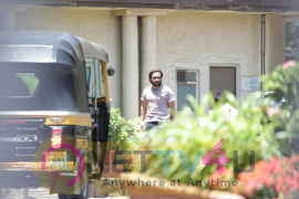 Saif Ali Khan Came To Lilavati Hospital In Bandra