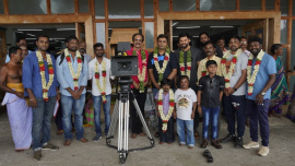 Teddy Movie Pooja Pics