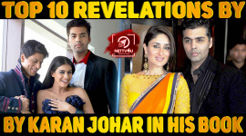 Top Ten Revelations By Karan Johar In His Book