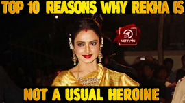 Top10 Reasons Why Rekha Is Not A Usual Heroine