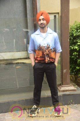 Diljit Dosanjh Promotes His Film Soorma At Jw Marriott Restaurant In Juhu Images