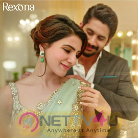 Naga Chaitanya And Samantha Rexona AD Stills