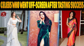 Top 10 TV Celebs Who Went Off-Screen After Tasting Success