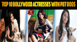 Top 10 Bollywood Actresses With Pet Dogs