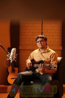 Music Director C.Sathya Attractive Stills