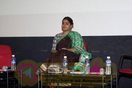 Ashwiny Iyer Tiwari At Young Filmmakers Of India Panel Discussion Pics Hindi Gallery