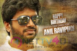 Hattrick Director Anil Ravipudi Birthday Posters Telugu Gallery