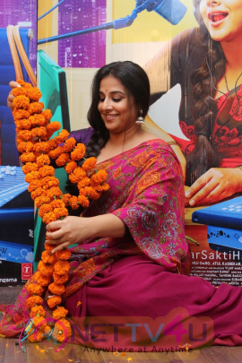 Interview Of Tumhari Sulu With Vidya Balan & Team Photos