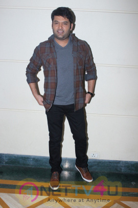 Kapil Sharma Spotted During Promotion Interview For Film Firangi Images
