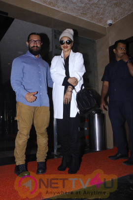 Aamir Khan Hosted Film Dangal Screening At PVR Icon Photos Hindi Gallery