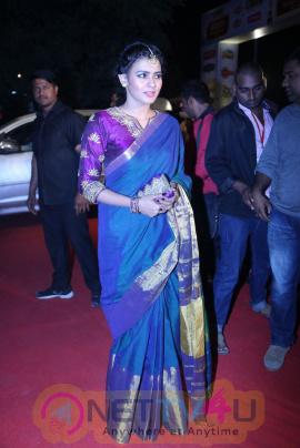 Actress Hebah Patel Lovely Pics At Gemini TV Puraskaralu 2016 Telugu Gallery