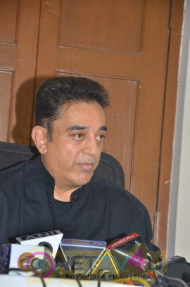 Actor Kamal Haasan Press Meet Photos Tamil Gallery