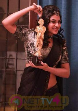 Actress Indhuja Ravichandran Attractive Stills Tamil Gallery