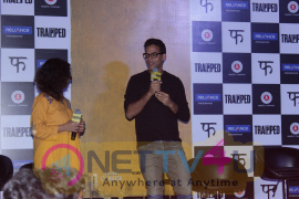 Trailer Launch Of Film Trapped With Rajkummar Rao & Vikas Bahl Photos Tamil Gallery