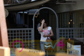 Zareen Khan Spotted At Sutra Restaurant In Mumbai Recent Photos  Hindi Gallery