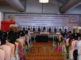 Commemorative Postage Stamp And Book Release Function On B Nagi Reddy Event Photos