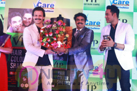 Launching Of VIP Hair Color Shampoo Pics  Tamil Gallery
