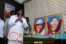 T Rajendar Celebrated Amma Birthday Event Stills Tamil Gallery