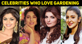 10 Celebrities Who Love Gardening