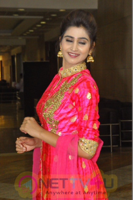 Actress Shamili Stunning Pics In Pink Outfit