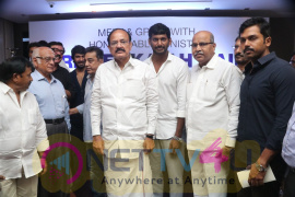 Venkaiah Naidu Press Meet Stills Tamil Gallery