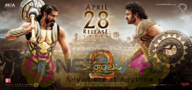 Baahubali 2 Release Date Posters Telugu Gallery