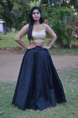 Actress Varshitha Attractive Images