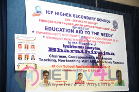 Iyakunar Imayam Bharathiraja At Service To Society (S2S) 6th Educational AID Program - ICF Higher Secondary School Photos Tamil